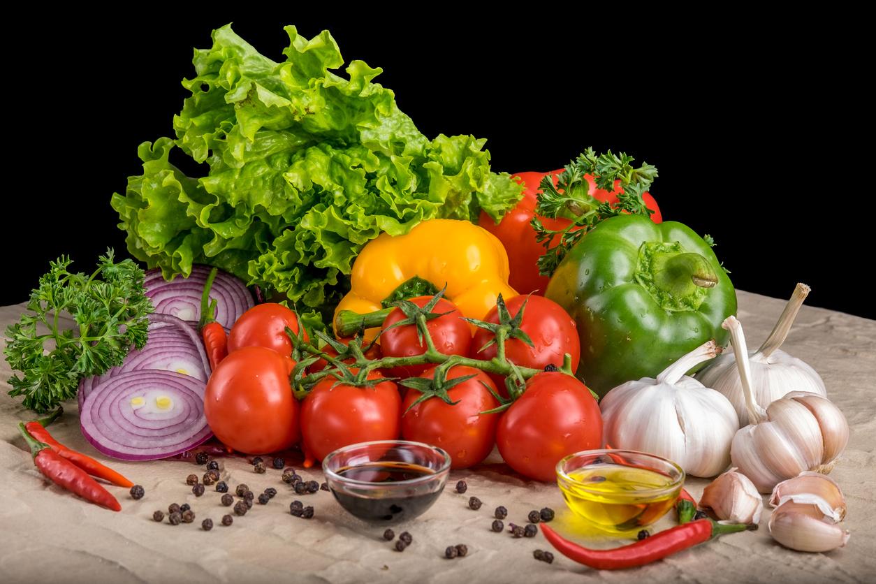 Zuckerfreie Ernährung mit Salat